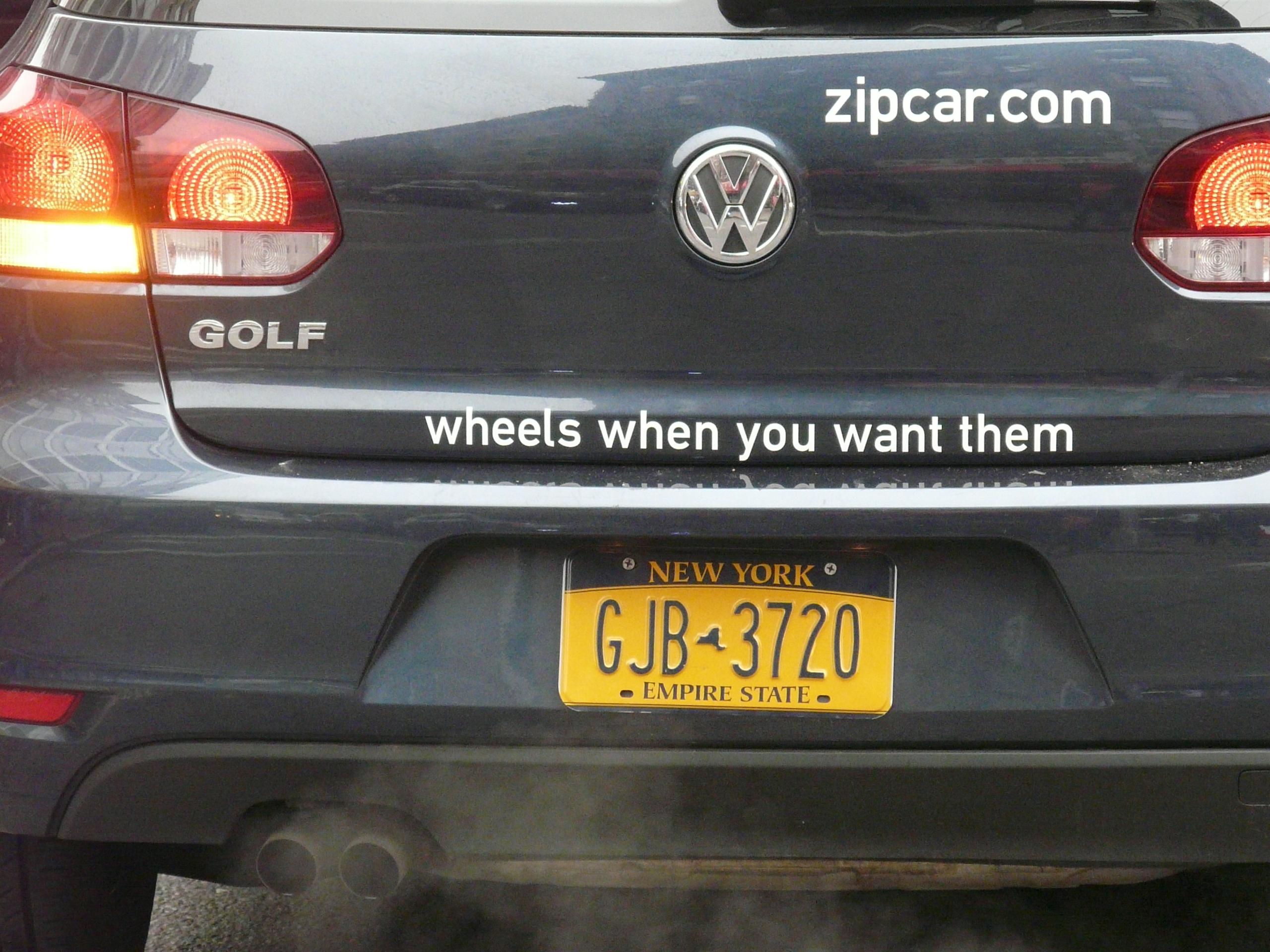 N.Y. zipcar